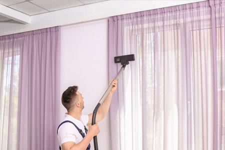 Nettoyage des stores et des rideaux